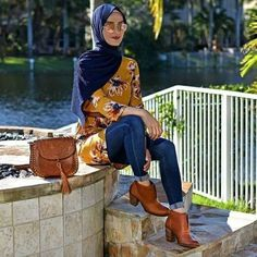 How to wear ankle boots with hijab – Just Trendy Girls