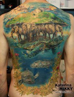 great a'tuin tattoo