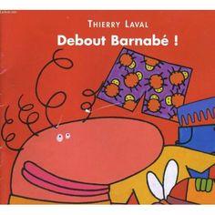 Barnabé s'habille : caleçon, chaussettes, tee-shirt, pantalon, chaussures, se peigne et prend son cartable... (0-4 años / 0-4 urte)