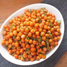 Zobrazit Pečená cizrna s koriandrem receptů Chana Masala, Food And Drink, Ethnic Recipes, Apothecary