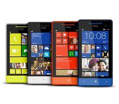 Smartphone de HTC en 4 colores, con Windows Phone 8S. El smartphone perfecto para tu vida profesional y tu ocio. Con diseño único de brillantes y divertidos colores destacarás de inmediato entre la multitud de smartphones que te rodean. Más info y opiniones: http://www.smartphonesinside.com/130437/htc-windows-phone-8s