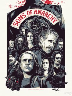 Sons of Anarchy Paley Fest 2012 poster
