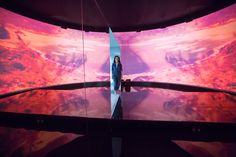 """Kanye West Collaborator Es Devlin Discusses Her Latest Solo Exhibition: The stage designer displayed """"ROOM at Art Basel Miami. Set Design Theatre, Stage Design, Event Design, Es Devlin, Mirror Maze, Mirror Mirror, Formation Tour, Bristol University, Galleries In London"""
