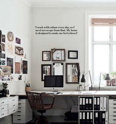 . relaxed work space . Copenhagen charm