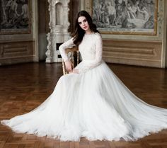 Daalarna Wedding Dress - Style 689 - 2014 Collection - (modwedding)