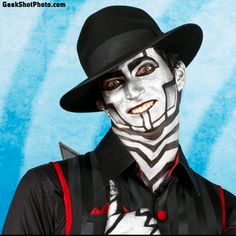 "David Micheal Bennett or ""The Spine"" from the amazing group Steam Powered Giraffe! If you haven't heard their music then I suggest doing so!"