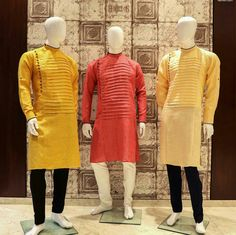 Nicefair offers a panorama of styles, fabrics and colours in Mens gorgeous ethnic wear. Pick the ideal ethnic wear to match with your style & persona Kurta Pajama Men, Kurta Men, Mens Sherwani, Indian Men Fashion, Mens Fashion Suits, Men's Fashion, Formal Attire For Men, Mens Shalwar Kameez, Gents Kurta