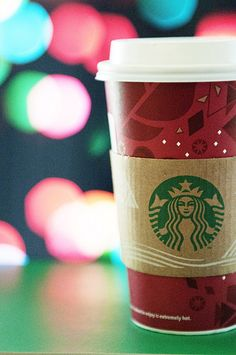 Starbucks Coffee Bokeh | #ShotofCoffee