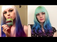 purple and green hair - Google Search