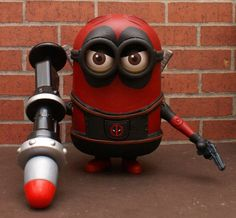 Deadpool / Despicable Me    Deadpool Minion by goose360