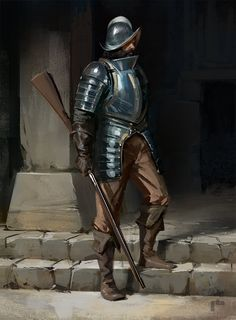 Conquistador, Pierre Bertin on ArtStation at https://www.artstation.com/artwork/conquistador