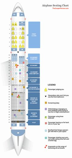 d802fd293959 The Most Accurate Airplane Seating Chart Domestic Flights