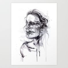 Tremore+Art+Print+by+Agnes-cecile+-+$20.00