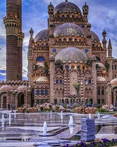 Mosque of the companions in Sharm el - Sheikh .. Egypt beautiful.  #this_is_egypt