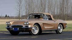 1962 Chevrolet Corvette Styling Car S.O. 10224, Special Firemist Gold Paint presented as lot S170.1 at Indianapolis, IN