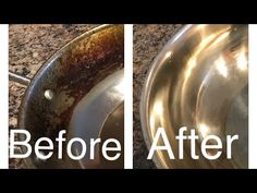 Clean Burnt Pots, Clean Pots, Cleaning Pans, Diy Home Cleaning, Remove Oil Stains, Grease Stains, Burnt Food, Clean Baking Pans, Sticker Removal