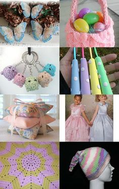 Spring in pastel by michelledmonaco on Etsy--Pinned with TreasuryPin.com