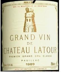 1989 Château Latour Grand Vin