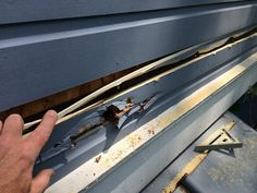 Clapboard Siding Repair 101 – How to Replace That Rotted Siding With Some Good Wood! Porch Repair, Siding Repair, Home Repair, Clapboard Siding, Wood Siding, Build Your House, Restoration, Building, Garage