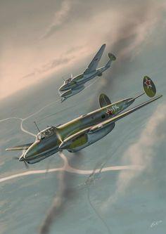 Soviet Petlyakov Pe-2 'Peshka' Dive Bomber