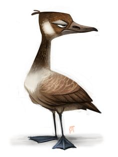 Day 533. Canadian Goose by Cryptid-Creations.deviantart.com on @deviantART ★ Find more at http://www.pinterest.com/competing/