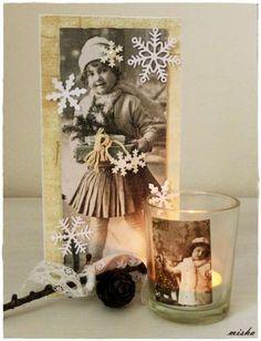 Vianoce ako zo starého filmu / Artmama.sk / Vintage christmas decoration - very sweet!:)