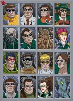 doctor octopus 1 by stalnososkoviy on DeviantArt Marvel Villains, Marvel Heroes, Marvel Characters, Spiderman Art, Amazing Spiderman, Marvel Comic Universe, Marvel Dc Comics, Marvel 1602, Iron Man Cartoon