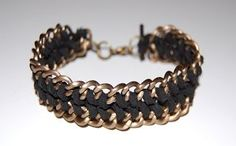 Suede and Chain | Community Post: 24 Super Easy DIY Bracelets