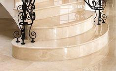 Stilvolle Eleganz - Marmor Treppen!  http://www.treppen-deutschland.com/marmor-treppen-moderne-marmor-treppen