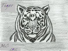 Tiger by MaricarmenHusson.deviantart.com