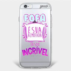 Amo isso! Sou Incrível Fluffy Phone Cases, Girly Phone Cases, Cell Phone Covers, Iphone Cases, Iphone 7 Normal, Capa Iphone 6 Plus, Capas Iphone 6, Ipod, Lettering Tutorial