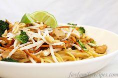Our Version of Noodles & Co.'s Thai Peanut Saute