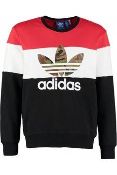 edcba76deb786 Hombre Sudaderas - Adidas Sudadera black Teen Boy Fashion