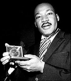Nobel Peace Prize Acceptance by Dr. Martin Luther King Jr.   December 10, 1964, Oslo, Norway