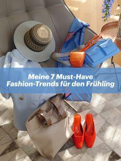 """""""Meine 4 Must-Have Beauty-Trends für den Frühling"""" hast du sicherlich bereits gesehen. Heute geht es um Fashion-Trends. Leichtere Kleidung, lässige Schnitte und bunte Accessoires sind superangesagt."""