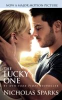 Nicholas Sparks' The Lucky One. Not my usual pick and was disappointed in writing