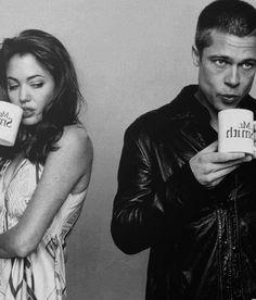 Angelina Jolie and Brad Pitt; Mr. & Mrs. Smith