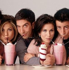 """Originally the show was going to focus on just four characters: Monica, Ross, Rachel, and Joey. Phoebe and Chandler were going to be supporting characters. 