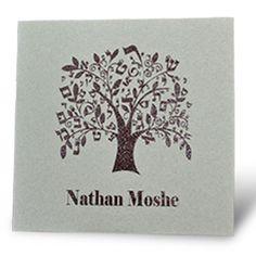 A Tree of Life – Bar Mitzvah Invitation