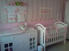 Resultado de imagem para papel parede estampado de flores para quarto infantil