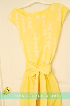 See Cate Create » What's Cate creating today?DIY Dress | Easy to Sew Dress from a Thrifted Sheet