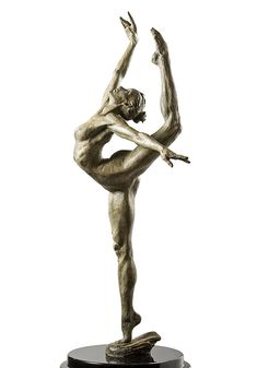 For Sale on - Soar., Bronze by Paige Bradley. Offered by Windsor Fine Art. Human Sculpture, Sculpture Clay, Abstract Sculpture, Bronze Sculpture, Metal Sculptures, Edgar Degas, Ceramic Cafe, Figure Poses, Plastic Art