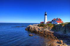 Cape Elizabeth Lighthouse by Kaushik A C, via 500px