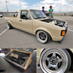 80-84 volkswagen caddy with a honda k series swap