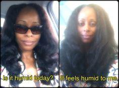 humidity + natural hair