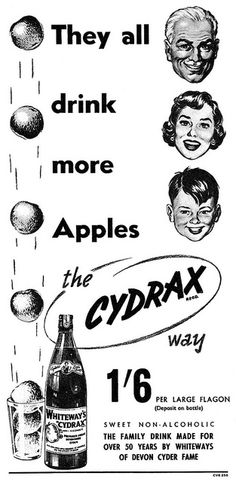 Cydrax advertisement. by totallymystified, via Flickr