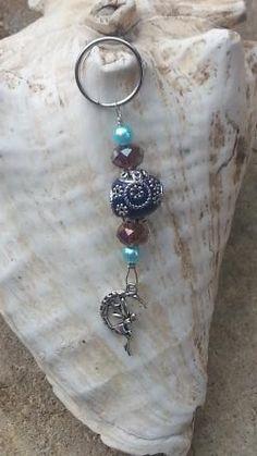 Schildkröte flach Turtle Schlüsselanhänger Anhänger Silber aus Metall