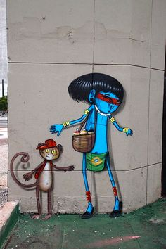 by Cranio (Beyond Banksy Project). São Paulo street artist Cranio. Cranio is a Brazilian graffiti artist and one of the most notable ones working in the concrete jungle of São Paulo.
