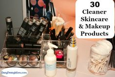 30 Cleaner Skincare & Makeup Products