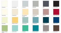The Fusion™ line of colours, carefully selected from the repertoire of Homestead House Paint Company.